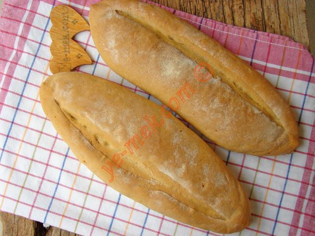 Tam Ölçülü, Püf Noktaları İle Nefis Bir Tarif : Kuru Mayalı Ekmek