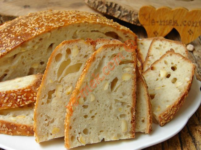 Daha Önce Bu Kadar Lezzetli Bir Ekmek Yememişsinizdir : Nohut Mayalı Köy Ekmeği