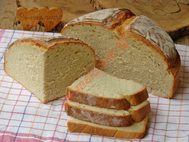 Tadan Herkes Sizden Bu Ekmeğin Tarifini İsteyecek : Nohut Mayalı Ekmek