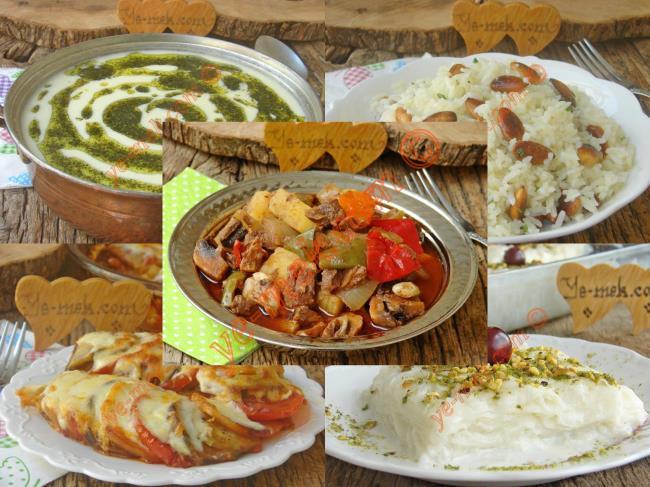 2. Günün Ramazan Menüsü
