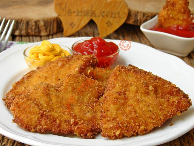 Tavuk Şinitzel Nasıl Yapılır Oktay Usta