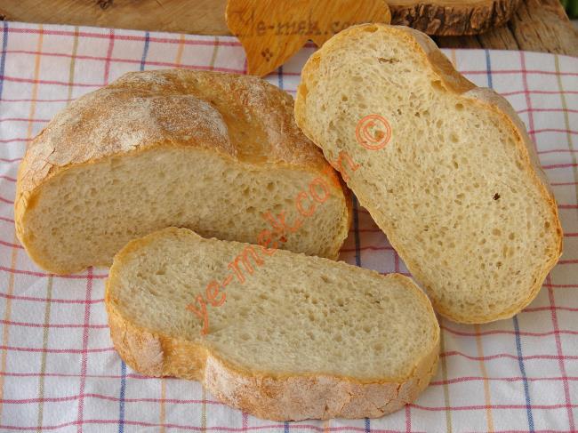Aynı Fırından Almış Gibi, En Güzeli Böyle Olur : Evde Ekmek Yapımı