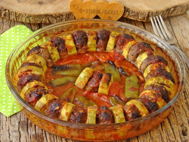 Kabağın En Lezzetli ve Şık Sunumlu Hali : Kabak Kebabı