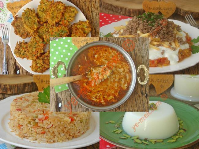 10. Günün Ramazan Menüsü