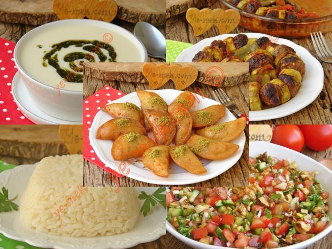 Ana yemekli iftar menüsü