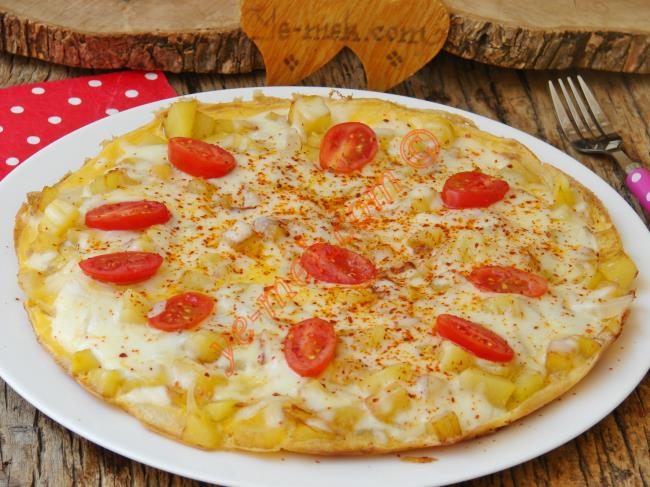 Rendelenmiş Patatesli Omlet
