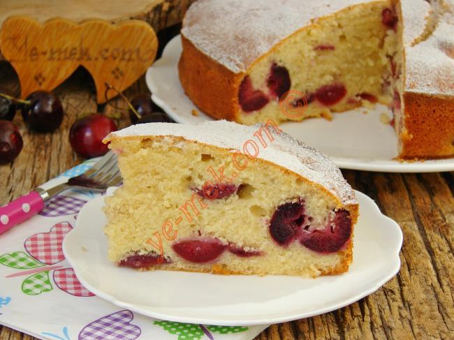 Dokusu ve Lezzeti İle Favoriniz Olacak : Kirazlı Kek
