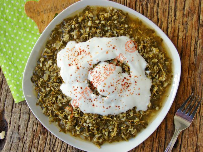 Sivas, Tokat ve Yozgat Yöresinin Sevilen Enfes Bir Yemeği : Madımak Yemeği