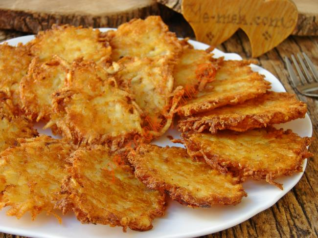 Çıtır Çıtır Cips Tadında, Enfes Bir Lezzet : Rendelenmiş Patates Kızartması