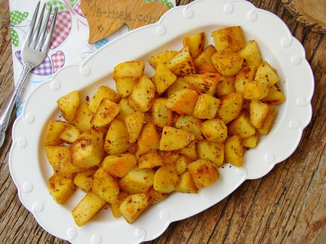 Tadına Doyulmaz Bir Lezzet : Tavada Haşlanmış Patates Kızartması