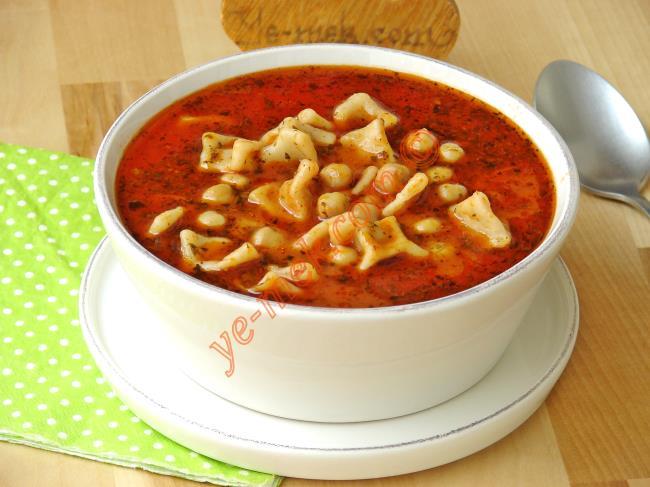 Adana Yüksük Çorbası