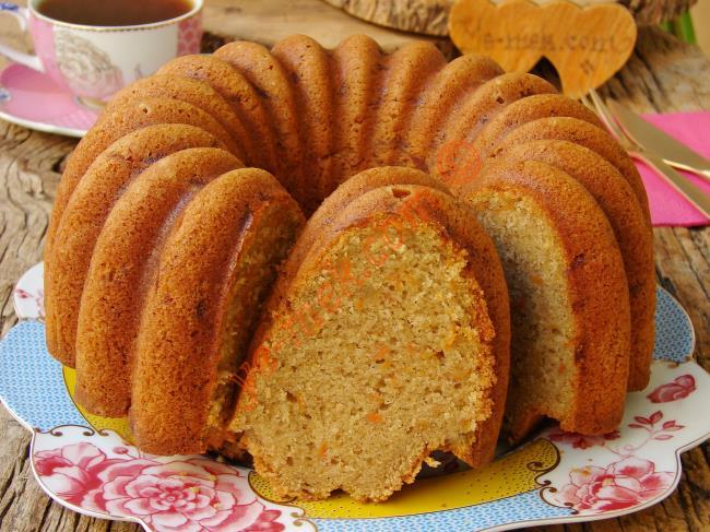 Havuçlu Çaylı Kek