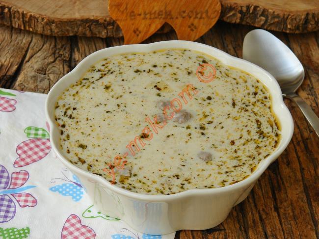 Bu Çorba Varken Ana Yemeğe Gerek Yok : Köfteli Çorba