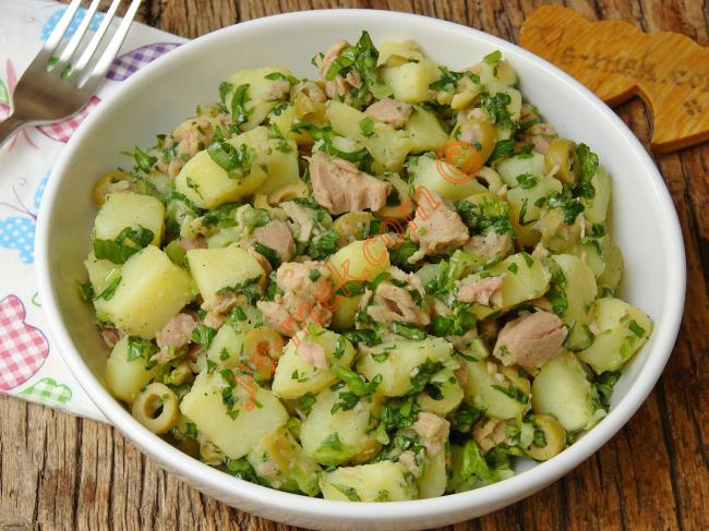 Ton Balıklı Salata Tarifleri