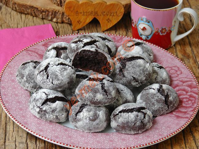 Brownie Tadında : Kakaolu Kurabiye