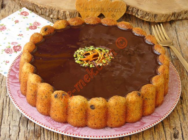 Mis Gibi Kokusu İle Enfes Bir Kek : Portakallı Haşhaşlı Kek
