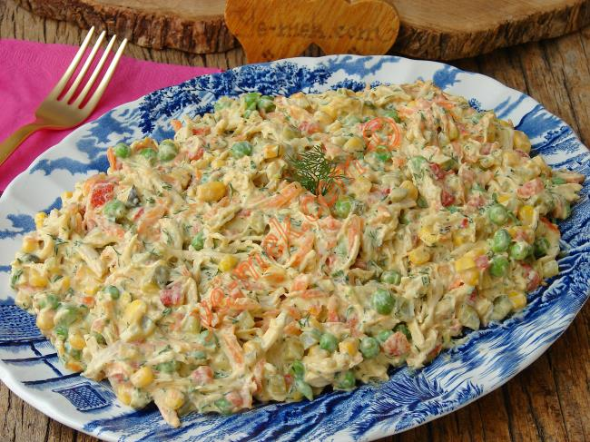Tavuklu Salatalar