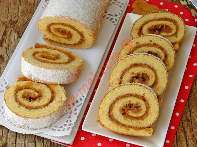 Püf Noktaları İle Tam Ölçülü : Elmalı Rulo Pasta