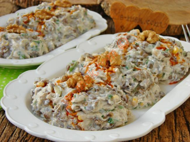 Yoğurtlu Tavuk Salatası Tarifleri
