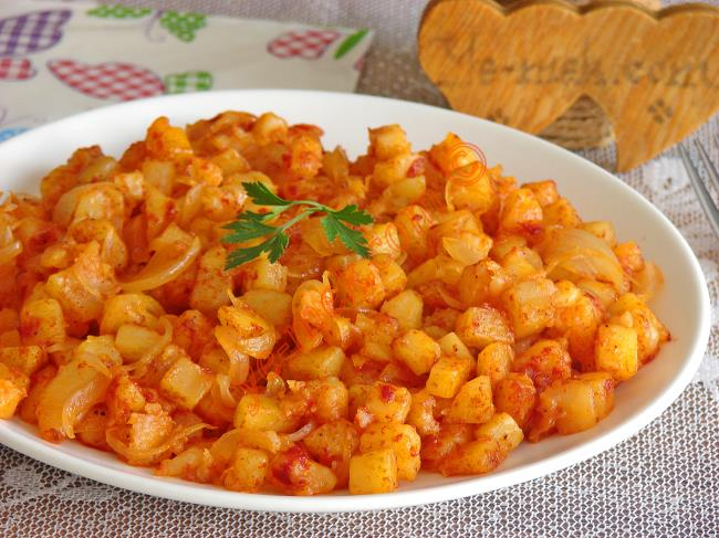 Soğanlı Patates Kavurması